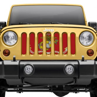Dirty Acres® - Army Style Perforated Grille Insert