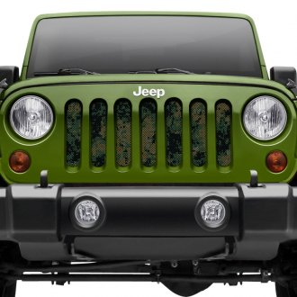 Dirty Acres® - Camouflage Style Perforated Grille Insert