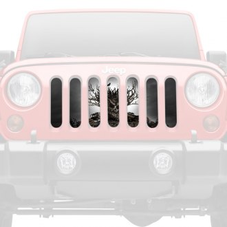 Dirty Acres® - 1-Pc All Hallows Eve Style Perforated Main Grille