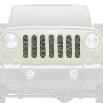 Dirty Acres® - 1-Pc Air Force Tiger Stripe Style Perforated Main Grille