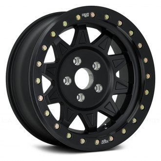 DIRTY LIFE® - ROADKILL RACE Matte Black with Black Beadlock