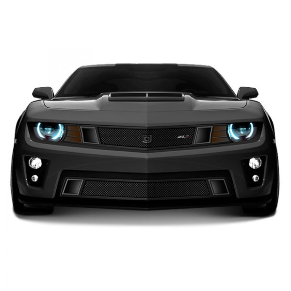 DJ Grilles® - Image may not reflect your exact vehicle! GT Strada Black Mesh Main Grille