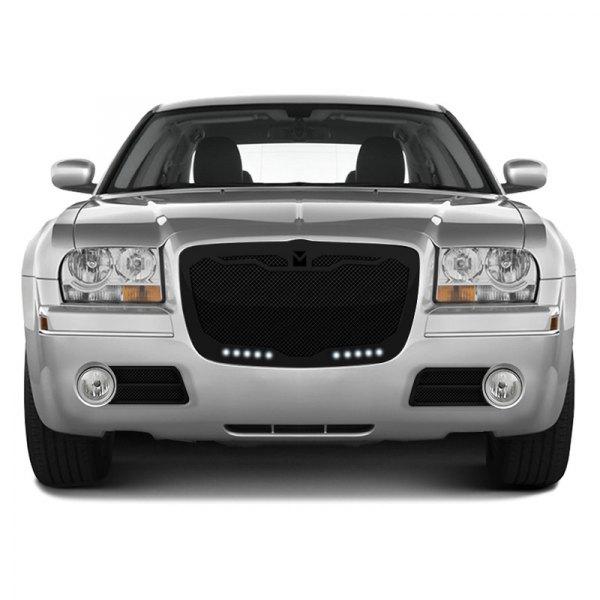 Chrysler 300 2005-2010 Macaro Black Mesh Grille