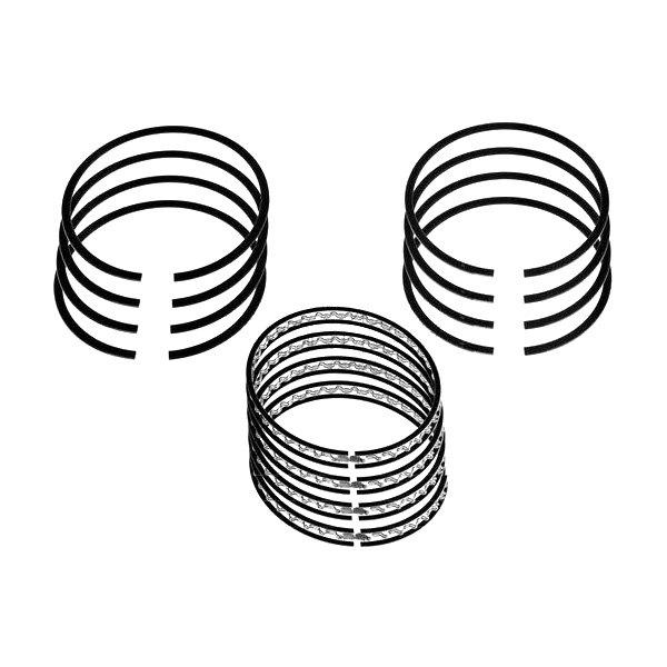 Dnj Engine Ponents® Piston Ring Set: 2003 Ford Focus Engine Parts At Downselot.com