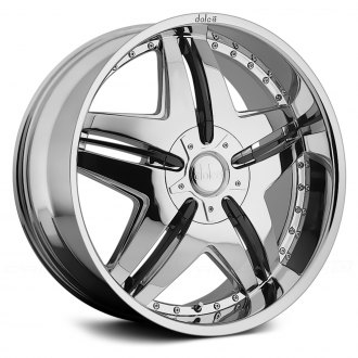 DOLCE® - DC24 Chrome with Black Accents