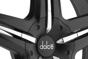 DOLCE® - DC26 Black with Chrome Accents Close-Up
