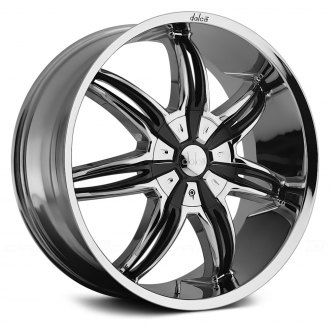 DOLCE® - DC40 Chrome with Black Inserts