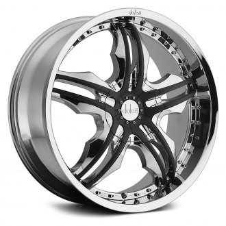 DOLCE® - DC46 Chrome with Black Inserts