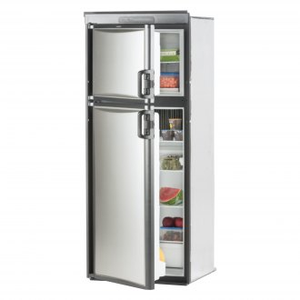 Dometic® - Americana Plus Double Compartment Refrigerator with 3-Position Adjustable Freezer Shelf