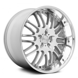 DONZ® - MONTANA Silver with Brushed Face and SS Lip