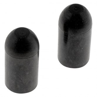 "Dorman® - 1/2"" Bypass Cap (Rubber, Black, 2 pcs)"