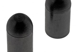"Dorman® - 3/8"" Bypass Cap (Rubber, Black, 2 pcs)"