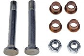 Dorman® - Front Stainless Steel and Cooper Door Hinge Pin and Bushing Kit