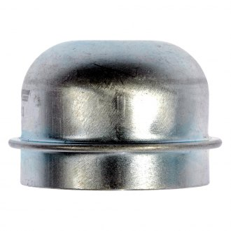 Dorman® - Rear Silver Steel Wheel Bearing Dust Cap