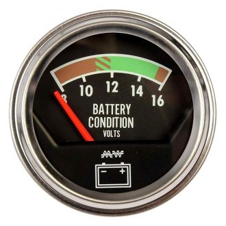 Dorman® - Chrome Voltmeter Gauge