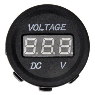 Dorman® - Help™ Black Digital Voltmeter Gauge