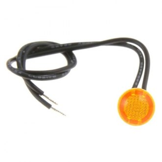 Dorman® - Round Mini Bezel-Free Amber Light Indicator