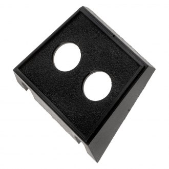 "Dorman® - 2 Holes Round Plastic Mounting Panel (1/2"" ID)"