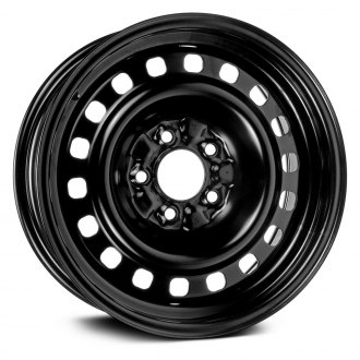 "Dorman® - 16"" 18 Holes Black Steel Wheel"