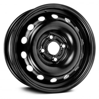 "Dorman® - 14"" 14 Holes Black Steel Wheel"