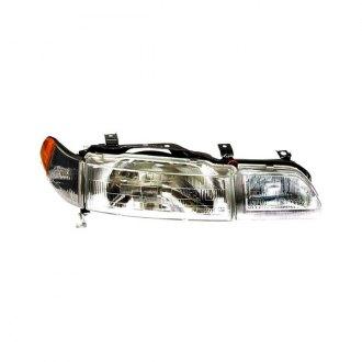 Acura Integra Factory Replacement Headlights CARiDcom - 1991 acura integra headlights