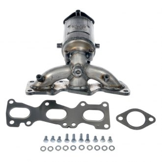 Dorman® - Front Stainless Steel Natural Exhaust Manifold with Integrated Catalytic Converter