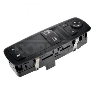 Black Dorman 901-299 Front Driver Side Door Window Switch for Select Chevrolet Models