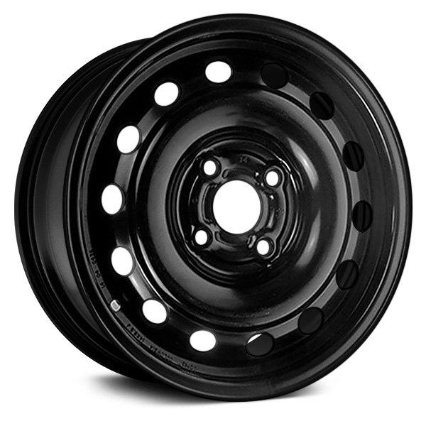"Dorman® - 14"" 14 Holes Black Steel Wheel"