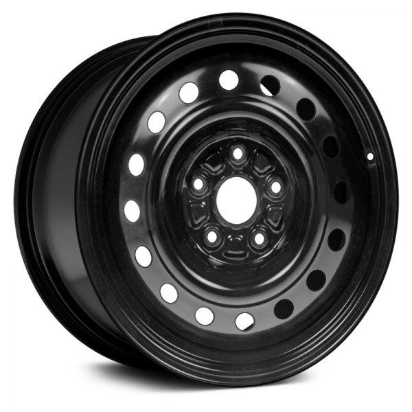 Dorman® - 16 x 6.5 16-Hole Black Steel Wheel