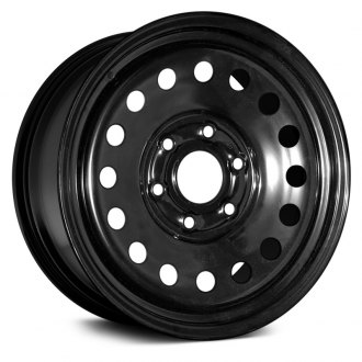 "Dorman® - 17"" 16 Holes Black Steel Wheel"