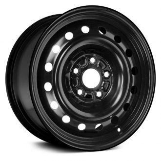 "Dorman® - 16"" 16 Holes Black Steel Wheel"
