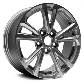 "Dorman® - 17"" 5 V Spokes Silver Alloy Wheel"