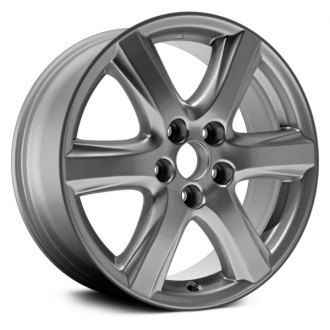 "Dorman® - 17"" 6 Spokes Gray Alloy Wheel"