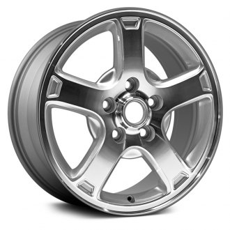 "Dorman® - 16"" 5 Spokes Silver Alloy Wheel"