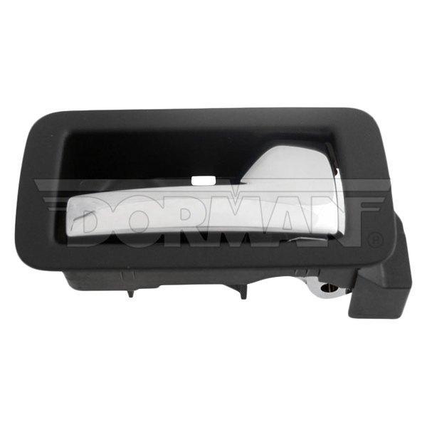 Inside Door Handle Black w// Chrome Lever Rear Right Passenger