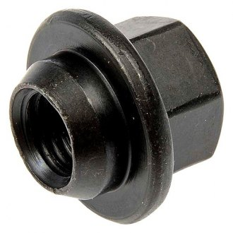 Dorman® - Black Wheel Cover Retaining Conical Seat Lug Nuts