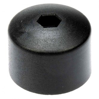 Dorman® - Black Plastic Wheel Fastener Cover