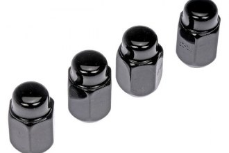 Dorman® - Black Acorn Conical Seat Lug Nuts