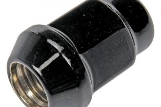 Dorman® - Black Chrome Cone Seat Acorn Bulge Lug Nuts