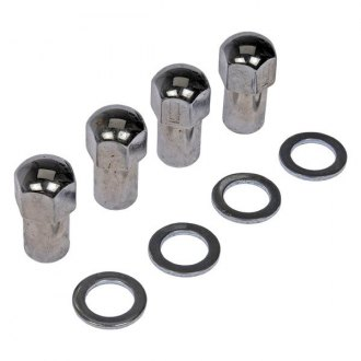 Dorman® - Chrome Duplex Mag Conical Seat Lug Nuts