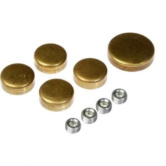 Dorman® - Autograde™ Bagged Brass Reverse Taper Cup Oil Galley Plug Kit