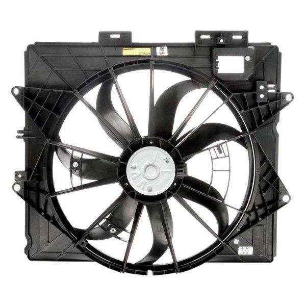 dorman cadillac cts 2009 cooling fan. Black Bedroom Furniture Sets. Home Design Ideas