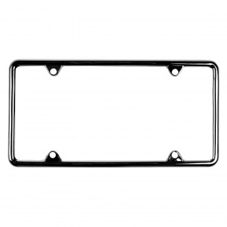 Dorman® - Chrome License Plate Frame