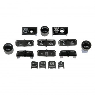 Dorman® - Radio Knob Assortment
