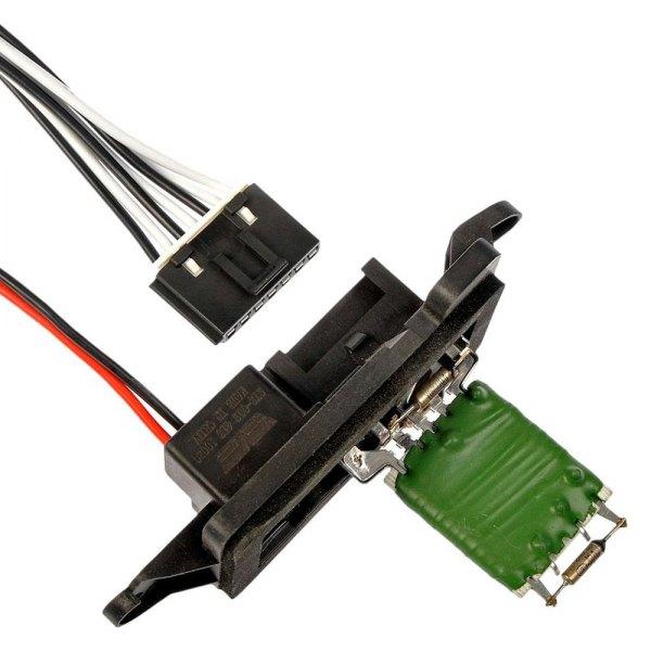 Dorman Heater Blower Motor Resistor /& Harness Kit for Chevrolet GMC Isuzu Truck