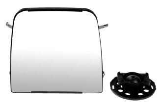 Dorman® - Manual Side Mirror Glass with Backing Plate