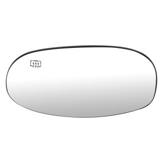 Dorman® - Driver Side Mirror Glass with Backing Plate (Heated)