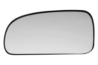 Dorman® 56077 - Driver Side Manual Door Mirror Glass with Backing Plate