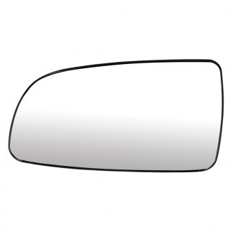 +ADHESIVE PAD~MANUAL LEFT DRIVER SIDE REPLACEMENT-MIRROR-GLASS SQUARE SHAPE