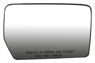 Dorman® 56156 - Passenger Side Power Door Mirror Glass with Backing Plate